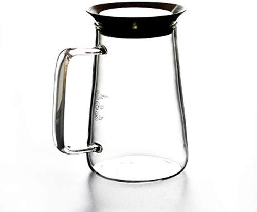 Teapot Teapot Juice Jug Housmile Blender Mixer Food Processor Kettle High Temperature Resistance Thick Heat-Resistant Glass Filter Pot 650ml