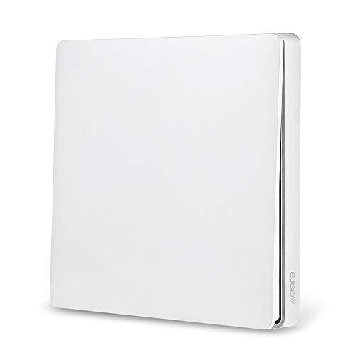 Blusea Aqara wandschakelaar, intelligente deurbel, lichtregelaar, wifi, 2,4 GHz, draadloze afstandsbediening Home Kit van Mi Home App (DoubleKey)