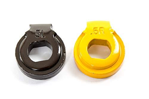 Shimano Nexus Nabenschaltung Fixierscheibe Sicherungs Scheibe Set 5L braun 5R gelb