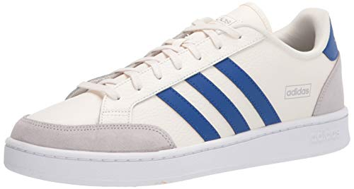 adidas mens Grand Court Se Sneaker, Chalk White/Team Royal Blue/Grey, 9 US