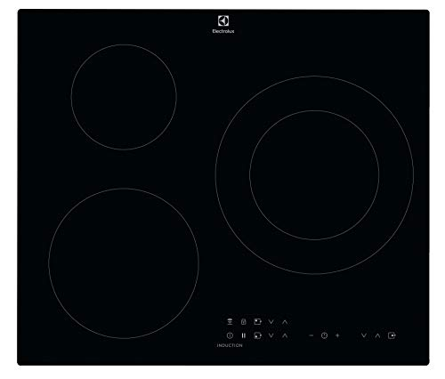 Electrolux LIT60336 hobs Negro Integrado Con - Placa (Negro, Integrado, Con placa de...