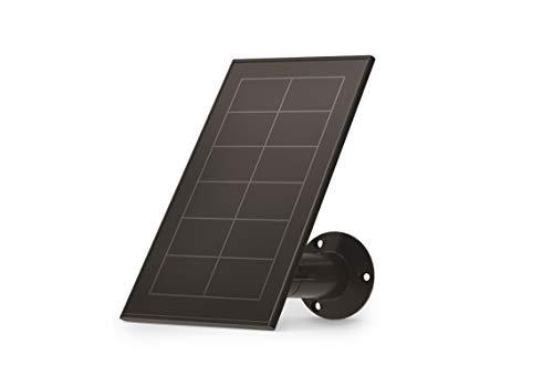 Arlo Accesorio Oficial - Arlo Panel Solar Cargador Resistente al Agua, Accesorio Oficial para Cámara de Seguridad Arlo Ultra, Pro 3 y Pro 4, Base Ajustable y Cable Cargador Magnético, VMA5600B