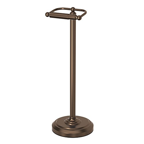 Our #5 Pick is the Gatco 1436BZ Pedestal Toilet Paper Holder