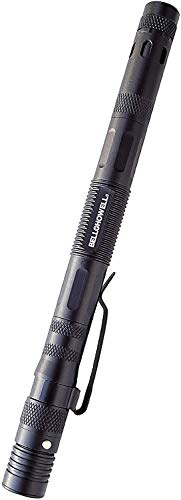 """TACPEN DELUXE with Brighter Flashlight by Bell+Howell 9-in-1 Aluminum Casing, 7"""" Military-grade Technical Pen, Escape Tool, with Whistle, Bottle Opener, Screwdriver and Replaceable Ink As Seen On TV"""