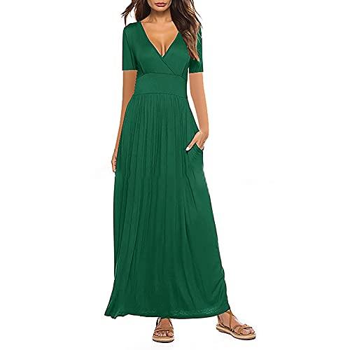 OWAGNK Damen Sommer und Frühling Europäische und Amerikanische Einfarbige Taschen Drees Y
