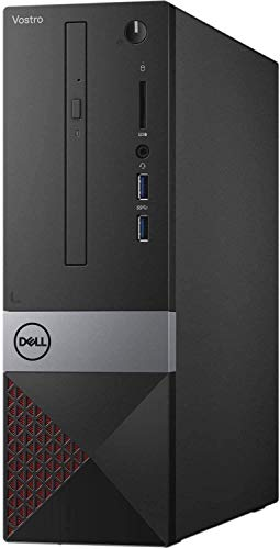 Newest Dell Vostro Premium Business Desktop | Intel Core i3-9100 | 8GB RAM | 256GBSSD +1TBHDD | DVD-RW | WiFi | Bluetooth | Windows 10 Pro | with Woov Accessory Bundle