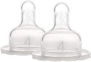 rosa 180 ml MEBBY 92640 botella de cristal del beb/é con la v/álvula anti-c/ólicos y aspiraci/ón de l/átex