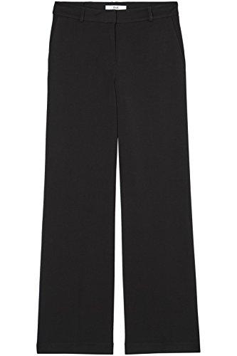 FIND Hose Damen mit Weitem Schlag und Mittelhohem Bund Schwarz (Black), 38 (Herstellergröße: Medium) - 6