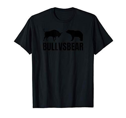 Bull VS Bear Bourse des Valeurs Investir Commerce T-Shirt