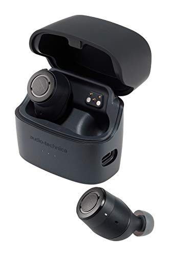 audio-technica完全ワイヤレスイヤホンノイズキャンセリングBluetoothマイク付きATH-ANC300TW