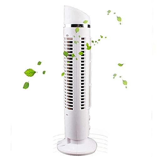 Aire acondicionado Apartamento, sin ventilador de mangueras de escape / con aire acondicionado de pie, Aire acondicionado sin hojas de escritorio ¡Velocidad dual USB? Ventilador de piso portátil de 20