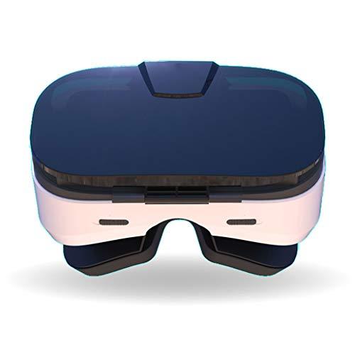 Lonshi VR-Brille Virtual Reality-Brille VR-Glas mit verstellbarer Linse und Smartphone mit 4,7-6,4 Zoll unterstützen Android Win und IOS Mobile Heimkino