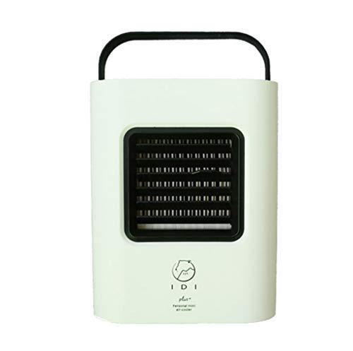 Mini dispositivo di raffreddamento ad aria, portatile carry, USB Charging aria condizionata fan mini frigorifero portatile air cooler nano fan, Design umanizzato, Piccolo condizionatore (A)