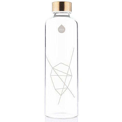 EQUA Erwachsene Mismatch 750 ml Trinkflasche, White, S
