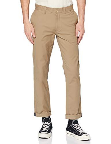 Ben Sherman Slim Stretch Chino Pantalones, Gris (Stone 40), W30/L32 (Talla del Fabricante: 30R) para Hombre