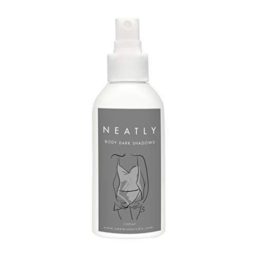 After Shave Feuchtigkeitspflege von Neatly I Pigmentflecken Entferner nach der Haarentfernung I Spray für Bikini Bereich & Unterarm mit Vitamin C Serum I 100% natürlich und vegan
