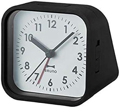 BRUNO ブルーノ 2アングルアラームクロック ブラック 時計 置時計 目覚まし時計 目覚まし アナログ時計 おしゃれ お洒落 お祝い かわいい ランキング プレゼント ギフト 贈り物 小型 卓上 2760295 BCA016-BK