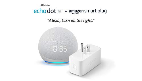 All-new Echo Dot (4th Gen) with clock + Amazon...