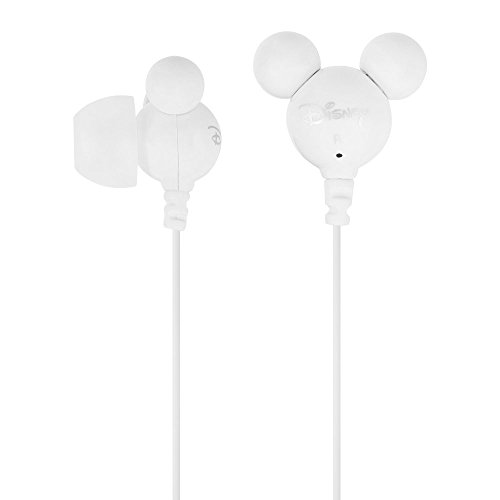 Disney Mickey i Minnie Earphone - White