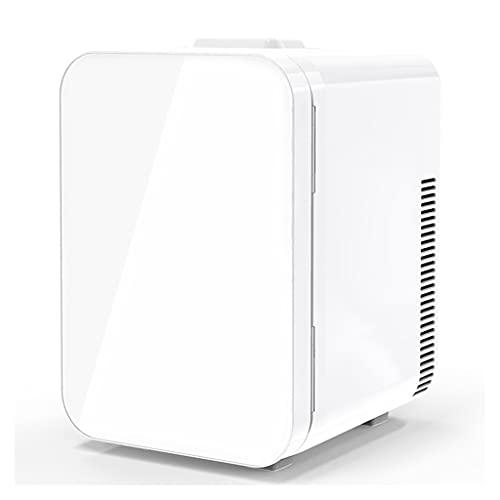 20L Mini Nevera Pequeña Portátil 12 V/110-220 V para Coche y Casa, 2 in 1 Tanto en Frío como en Calor 0-65°C Enfriamiento y Calentamiento para Skincare, Alimentos, Bebidas,White