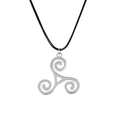 LUREME Fashion Punk Symbol Pendant Necklace for Fans (01003548)