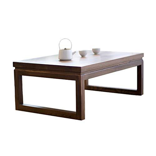 Kaffeetische Tatami Couchtisch Erker Tisch Kleiner Couchtisch Japanischer Niedriger Tisch Tatami Tisch Niedriger Tisch (Color : Dark Walnut, Size : 90 * 50 * 30cm)