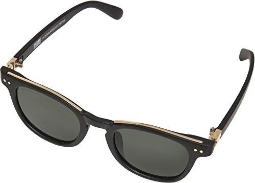 Urban Classics 111 Sunglasses UC, Occhiali Unisex-Adulto, Nero/Oro, One Size