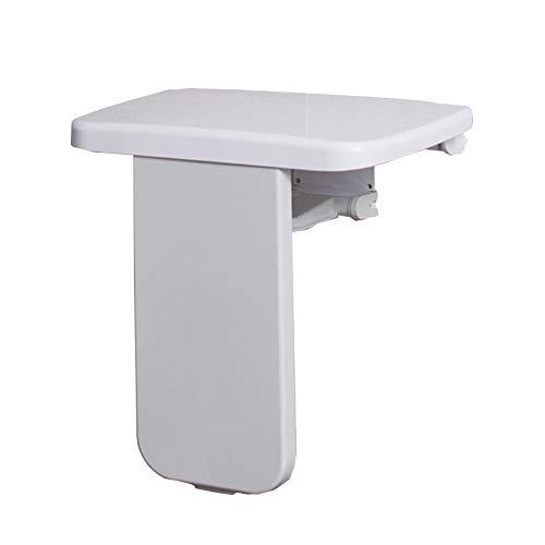 LXYYSG Duschklappsitz, Faltender Duschsitz Duschstuhl Klappbarer zur Wandmontage Rutschfester Oberfläche, für Schwangere, Senioren, Behindert