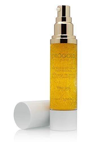 White Gold 24K Multi-Vitamin Deep Peeling Facial Exfoliator from OROGOLD Cosmetics - 50 ml, 1.76 fl. oz.