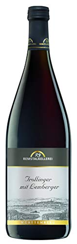 Württemberger Wein Remstal Trollinger mit Lemberger QW halbtrocken (1 x 1,0l)