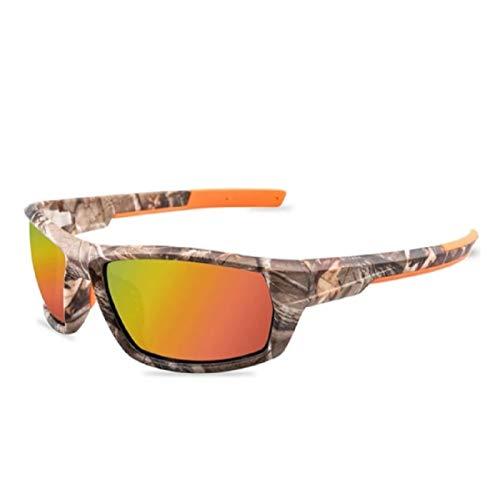 No Name Ltd - Gafas de sol unisex para pesca de carpa, diseño de camuflaje, color camuflaje, tamaño Unisex