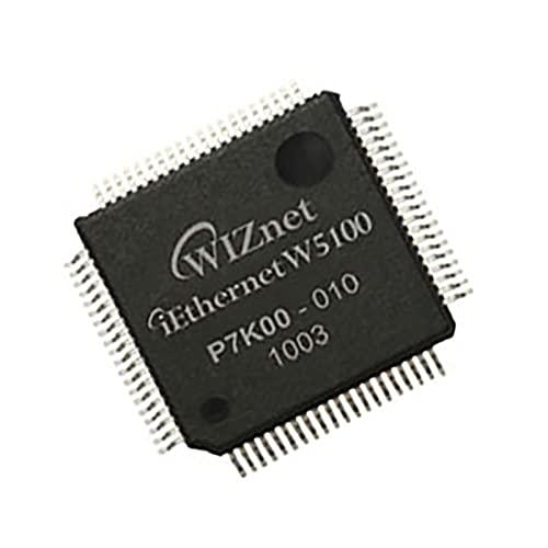 Chip de protocolo TCP/IP de Hardware del Chip del Controlador Ethernet del Chip Alianthy W5100