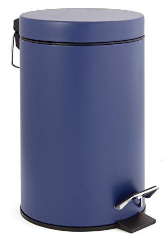 metallo 22,5/x 17/x 26/cm Gelco Design 709756/Pattumiera a pedale 3L nero
