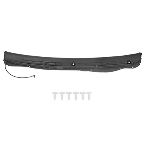 ECOTRIC Windshield Wiper Cowl Grille Vent Panel Fit for 2004-2012 Chevy Colorado GMC Canyon Replacement for 20820072
