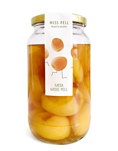 13 Mispelchen im Glas von MISS PELL. Das Frankfurter Kult Getränk aus Mispel und Calvados trinkfertig