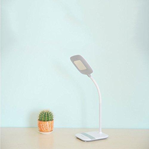 Lampe de table F LED Lampe de bureau LED 10W, Lampe de chevet, interrupteur tactile, Dimmable MT-610