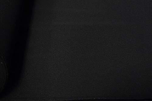 ABRAHAM MOON YORKSHIRE MILL JET BLACK  COAT// CAPE WEIGHT   WOOL FABRIC 150CM