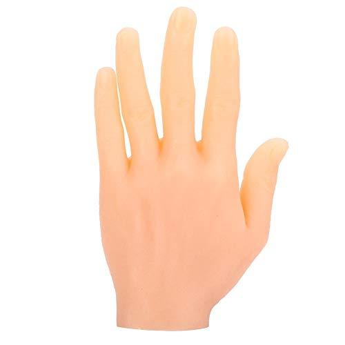 Main en silicone, facile à colorier Pratique du tatouage Main, facile à utiliser Adulte mâle Débutant pour artistes Artistes Moule à main Similaire(Left hand)