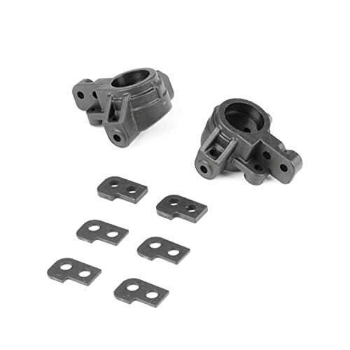 TEKNO RC LLC Adjustable Ackermann Spindles (L R EB ET410), TKR6553X