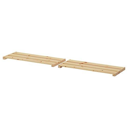 HEJNE estantería 77x28 cm madera blanda