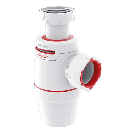 Wirquin D32 30722158 Neo Air - Sifón para lavabo, diámetro 32, color blanco