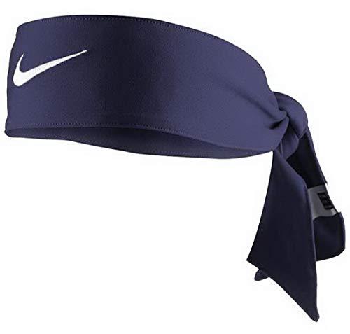 Nike Dri-Fit Head Tie 2.0 Midnight Navy/White Size One Size