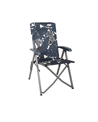 bel-sol Diva Campingstuhl, Aluminum, Blau, Mittel