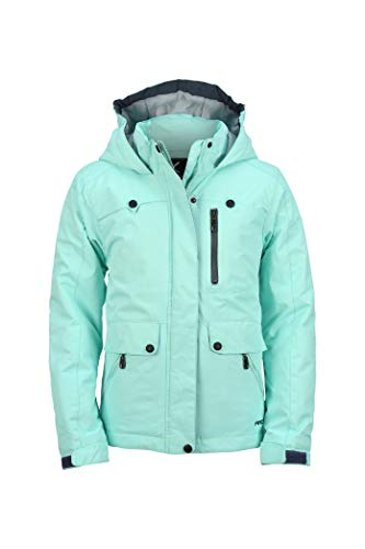 ARCTIX Girls Jackalope Insulated Winter Jacket, Island Azure, X-Small