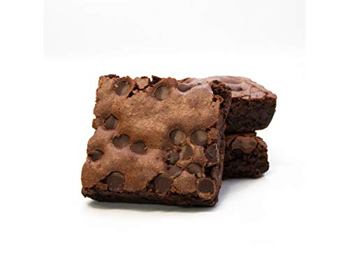 Davids Gluten Free Thaw N Sell Chocolate Chip Brownie Individually Wrapped, 3.5 Ounce -- 48 per case.