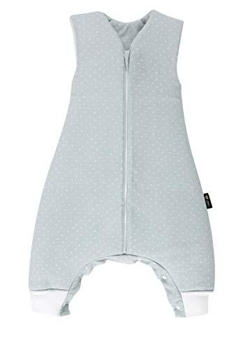 Set Alvi Schlafsack mit Beinen mit Stoffwindel von Kinderhaus Blaubär   Alvi Baby-Schlafsack Sleep-Walker mit Füßen, Größe:80, Design:New Dots