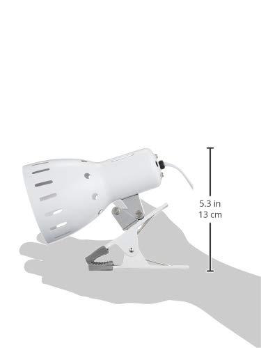『ヤザワ クリップライトE26 ホワイト CLX605WH』のトップ画像