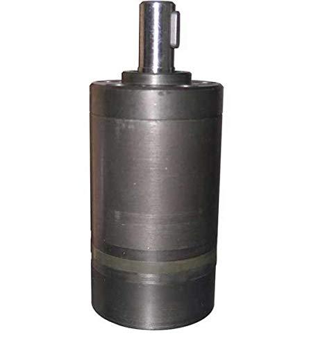Hydraulikmotor M+S MM_C, Schluckvolumen wählbar von 8 cm3/U – 50 cm3/U, Anschlüsse: G 3/8'', Welle: Ø 16 mm zylindrisch Größe 12 ccm