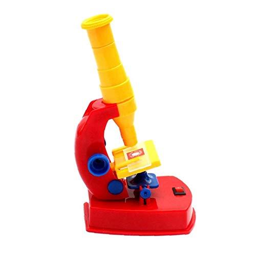 Mikroskop Spielzeug, zerlegbaren Educational DIY Stem Mikroskop für Vorschüler mit Assemable Teile Wissenschaft Mikroskop Spielzeug-Geschenk für 3+ Jahre alten Kinder, 1Set