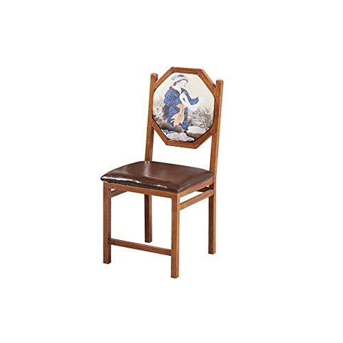 FYMDHB886 Eetkamerstoel Koffiestoel Industrieel winddek Amerikaanse landstoel Huishoudelijke ontspanningskruk Restaurant kantoorsalon stoel, Size, A